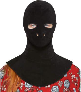 Vetements Black Fetish Mask