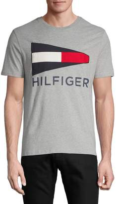 Tommy Hilfiger Embroidered Logo Cotton Tee