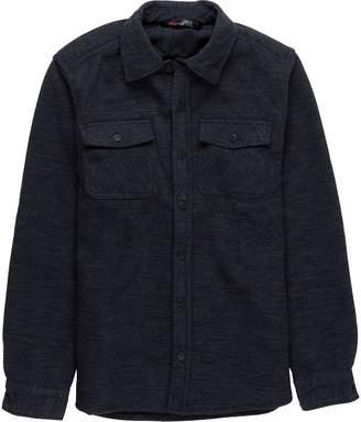 Stoic Sherpa Lined Fleece Shirt Jacket - Men's