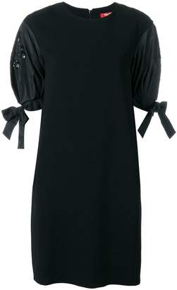 Max Mara structured sleeves dress