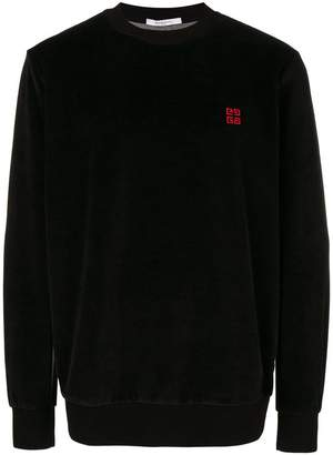 Givenchy 4G embroidered sweatshirt