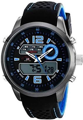 U.S. Polo Assn. Sport Men's US9505 Analog-Digital Display Analog Quartz Two Tone Watch