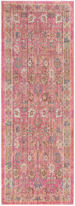 "Surya Germili Ger-2326 Bright Pink 2'11"" x 7'10"" Runner Area Rug"