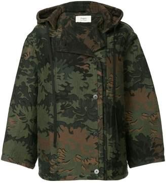 Ports 1961 jacquard oversized jacket