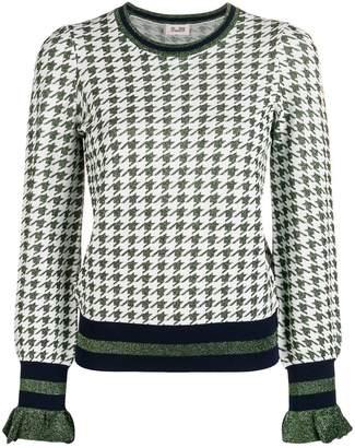 Baum und Pferdgarten houndstooth sweater