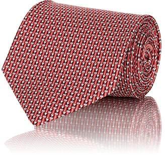 Salvatore Ferragamo Men's Pencil-Motif Silk Necktie