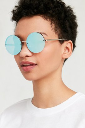 Urban Outfitters Mermaid Round Sunglasses $18 thestylecure.com