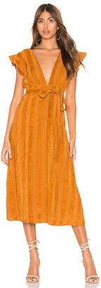 Line & Dot Brynn Deep Plunge Dress