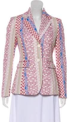 Altuzarra Tweed Notch-Lapel Blazer w/ Tags