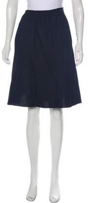 Societe Anonyme Linen Knee-Length Skirt w/ Tags