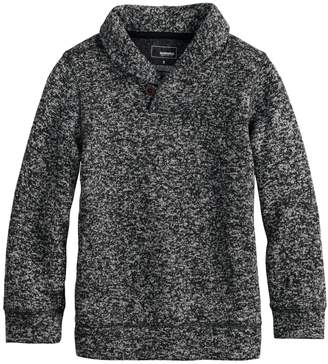 Sonoma Goods For Life Boys 4-12 SONOMA Goods for Life Sweater Fleece Shawl Pullover Top