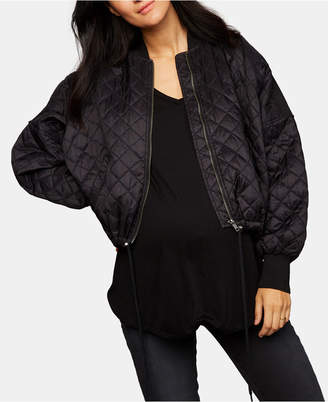 A Pea in the Pod Bb Dakota Maternity Quilted Jacket