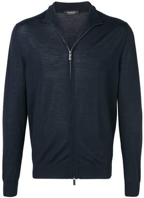 Ermenegildo Zegna high neck zip front cardigan