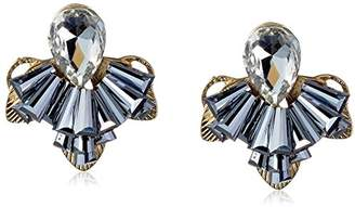 Jules Smith Designs Vintage Rhinestone Clustered Earrings