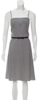 ABS by Allen Schwartz Printed Sleeveless Dress