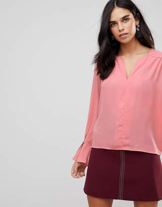 Traffic People Flute Sleeve Top