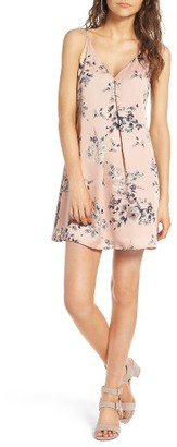 Women's Soprano Floral Print Slipdress $42 thestylecure.com