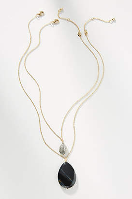 Anthropologie Darla Pendant Necklace Set