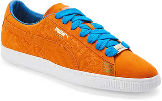 Puma Orange & Blue Suede Classic New York Knicks Sneakers
