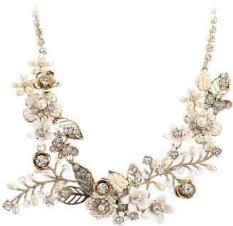 40e203a3e805a Flower Bib Necklace - ShopStyle