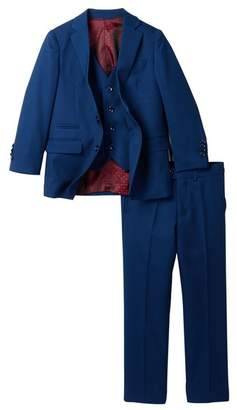 Isaac Mizrahi 3-Piece Suit - Husky Sizes Available (Toddler, Little Boys, & Big Boys)