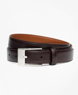 Brooks Brothers Boys Classic Leather Belt