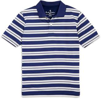 Brooks Brothers Boys' Striped Performance Polo