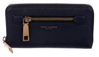 Marc Jacobs Gotham Zip-Around Continental Wallet