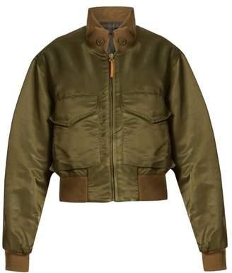 Nili Lotan Mcguire nylon bomber jacket