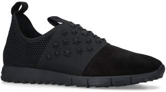 Jimmy Choo Suede Oakland Elastic Sneakers