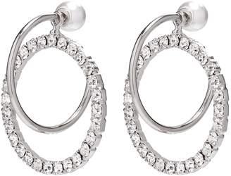 Swarovski Joomi Lim 'Saturn Stunner' detachable crystal ring hoop earrings