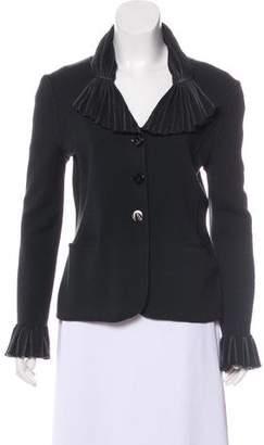 Armani Collezioni Wool Knit Jacket
