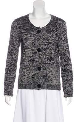 Balenciaga Knit Long Sleeve Cardigan