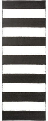 Latitude Run Greer Black/Cream Area Rug