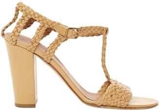 BEIGE Michel Vivien Leather Sandals