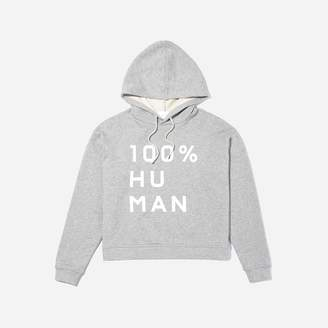 Everlane The 100% Human French Terry Hoodie in Large Print
