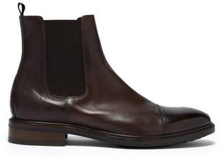 Jake Leather Chelsea Boots - Mens - Brown