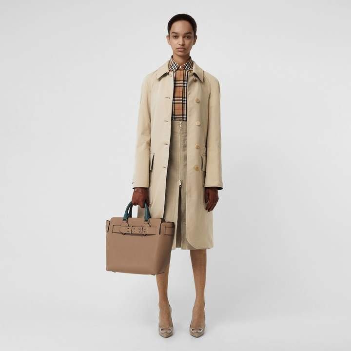 Wool-lined Tropical Gabardine Car Coat