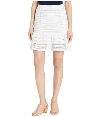 MICHAEL Michael Kors Lace Ruffle Skirt