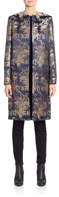 Ralph Lauren Collection Cora Silk Brocade Coat $2,990 thestylecure.com