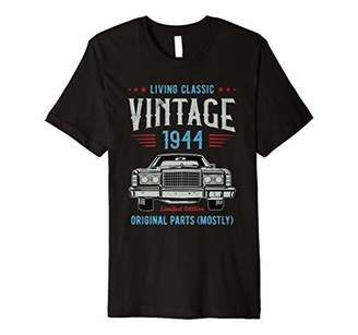 Vintage 1944 Funny 74 Birthday Gift For Men Party T-Shirt