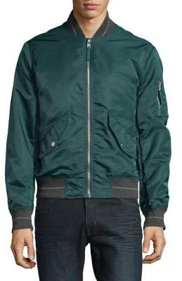 Michael Kors Nylon Bomber Jacket
