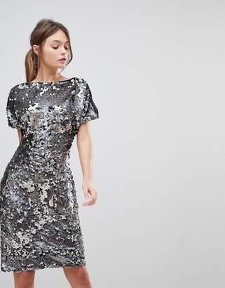 Reiss Teresa Sequin Party Dress