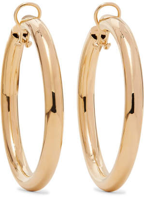 Jennifer Fisher Samira Gold-plated Clip Hoop Earrings