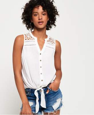 Superdry Isabella Tie Front Shirt