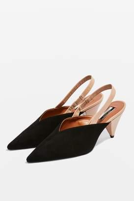 Topshop JUMBO Slingback Court Shoes