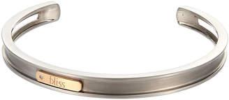 "Damiani Bliss By 18k Rose Gold & Titanium Bracelet, 5.5""L"