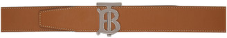 Burberry Tan Monogram Belt