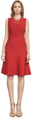 BCBGMAXAZRIA Lacee Slit-Back Dress