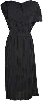 Marni Pleated Crepe Dress